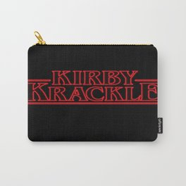 Kirby Krackle - Upside Down Logo Carry-All Pouch