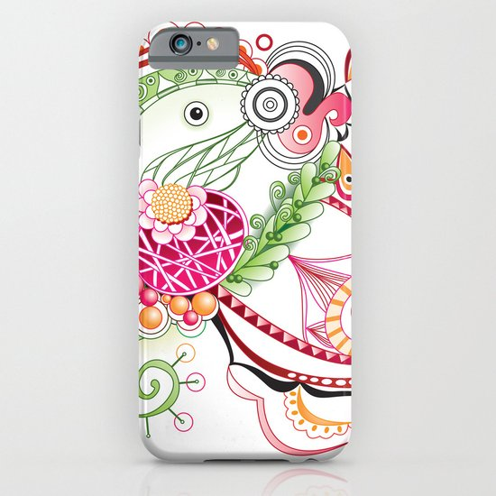 Spring tangle iPhone & iPod Case