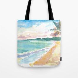 Grand Anse Beach Caribbean Vibes In Grenada Tote Bag
