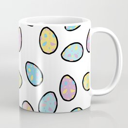 Speckled Egg Pattern Coffee Mug