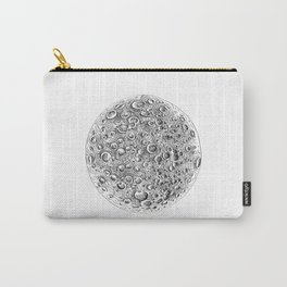 Lunar Craters Carry-All Pouch