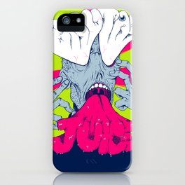This is your brain on Brutal Juice iPhone Case
