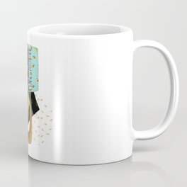 The Lamp is Watching / Lamp I / Yellow Eyes Coffee Mug