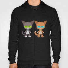 Cat Buddies (Max and Dave Cat) Hoody