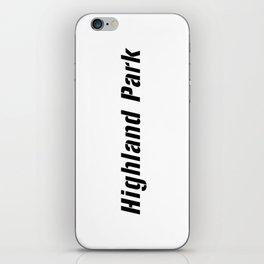 Highland Park iPhone Skin