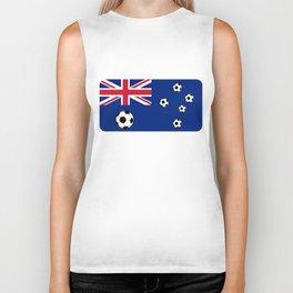Australian Flag Football Biker Tank