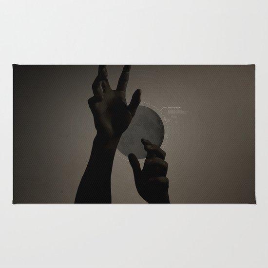 Hand's on the Moon Rug
