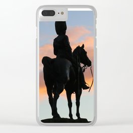 Royal Scots Greys Monument Clear iPhone Case