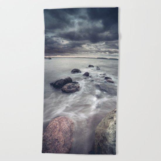 The furious rebels Beach Towel