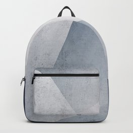 Indigo Minimal Geometry Backpack