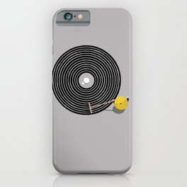 Zen vinyl iPhone Case