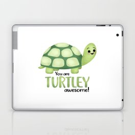You Are Turtley Awesome! Laptop & iPad Skin