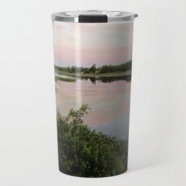 Pennamaquan River at Sunset Travel Mug