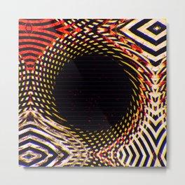 Quasi-Dimensional Peepshow Metal Print