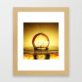 Bulb Fiction Framed Art Print