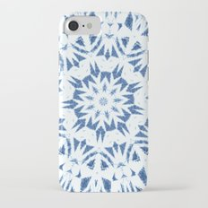 Snowflake Denim & White Slim Case iPhone 7