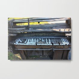 Splintered Harmony Metal Print