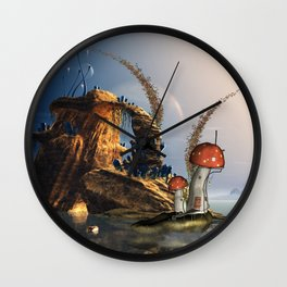 Wonderful seascape Wall Clock