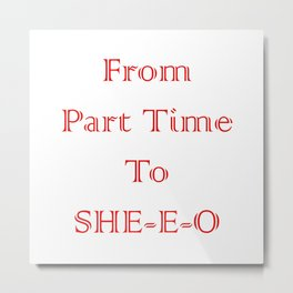 Female Ceo Metal Print