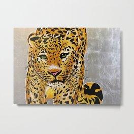 Jaguar Pachamama Metal Print