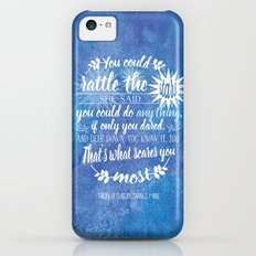 Throne of Glass by Sarah J. Maas Book Quote - Rattle The Stars iPhone 5c Slim Case