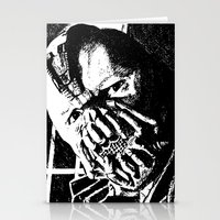bane Stationery Cards featuring Bane by DeMoose_Art