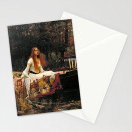The Lady of Shalott - John William Waterhouse Stationery Cards