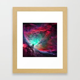 Red Mist Framed Art Print
