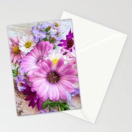 Daisies on Deck Stationery Cards