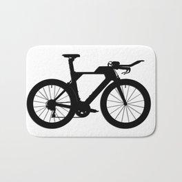 Bike T.T. Black Bath Mat