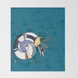 Nautilus Throw Blanket