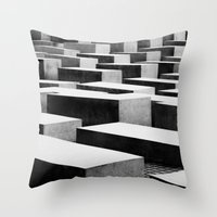berlin Throw Pillows featuring Berlin by Studio Laura Campanella