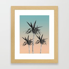 Palm Trees - Cali Summer Vibes #7 #decor #art #society6 Framed Art Print