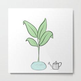 Oh, Plant. Metal Print