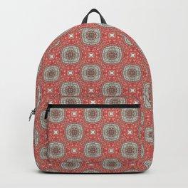 Coral Geometric Pattern #1 Backpack