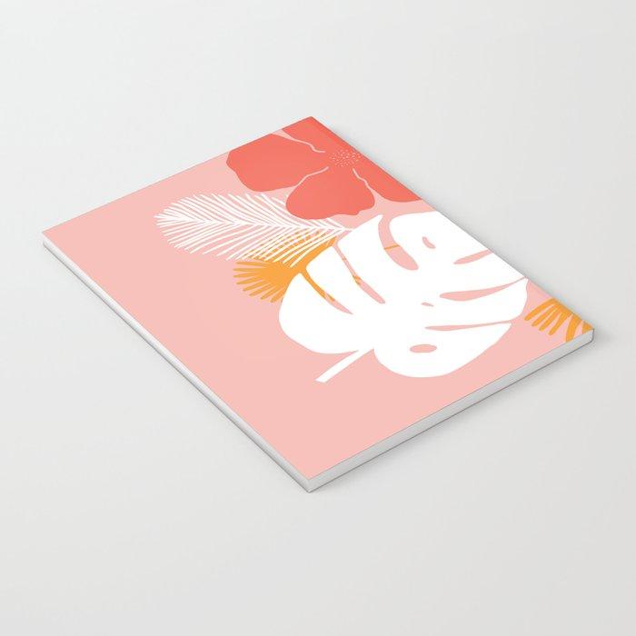 aloha, print Notebook
