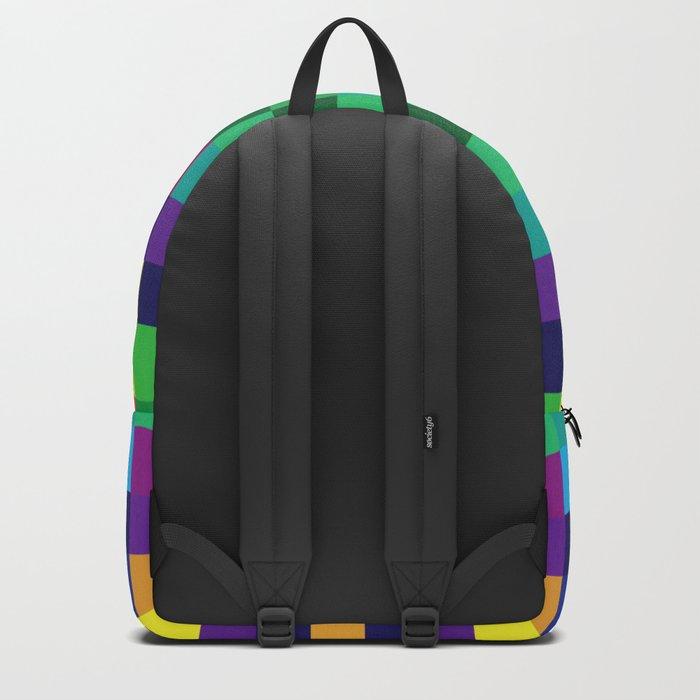 Colorful Geometric Background II Backpack