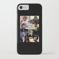 grand theft auto iPhone & iPod Cases featuring Grand Theft Baltimore - The Wire meets Grand Theft Auto by rydrew