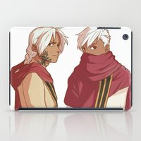 fullmetal iPad Cases featuring Ishvalan Elric Brothers by Anyeka