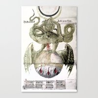 alchemy Canvas Prints featuring Alchemy by anipani