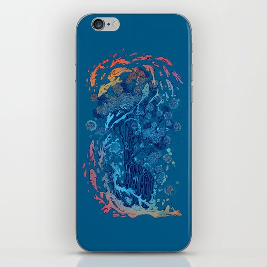 point of infinity iPhone & iPod Skin