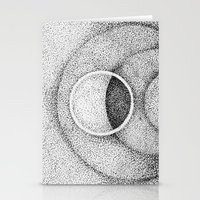 the moon Stationery Cards featuring Moon by Rui Ribeiro