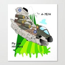 A-7E/H Aircraft Canvas Print