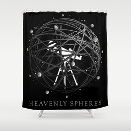 Heavenly Spheres Shower Curtain