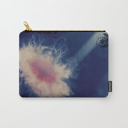 Floral Jellyfish Carry-All Pouch