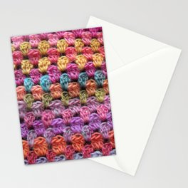 Crochet Grannysquare #4 Stationery Cards