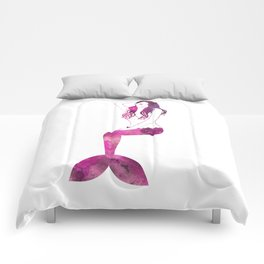 Fuchsia Mermaid Comforters