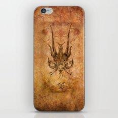 Zodiac: Capricorn iPhone Skin