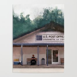 Coushatta Post Office - Better Call Saul Poster
