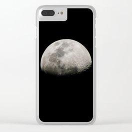 Half moon Clear iPhone Case
